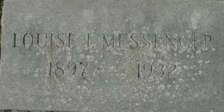 MESSENGER, LOUISE I - Berkshire County, Massachusetts   LOUISE I MESSENGER - Massachusetts Gravestone Photos