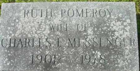 MESSENGER, RUTH - Berkshire County, Massachusetts | RUTH MESSENGER - Massachusetts Gravestone Photos