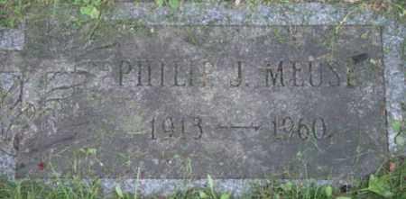 MEUSE, PHILIP J - Berkshire County, Massachusetts | PHILIP J MEUSE - Massachusetts Gravestone Photos