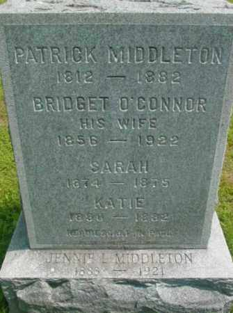 MIDDLETON, PATRICK - Berkshire County, Massachusetts   PATRICK MIDDLETON - Massachusetts Gravestone Photos