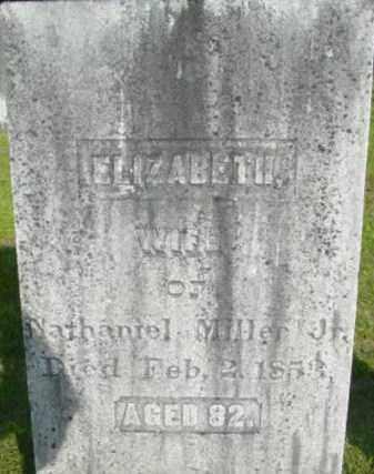 MILLER, ELIZABETH - Berkshire County, Massachusetts | ELIZABETH MILLER - Massachusetts Gravestone Photos