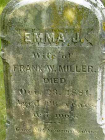 MILLER, EMMA J - Berkshire County, Massachusetts | EMMA J MILLER - Massachusetts Gravestone Photos