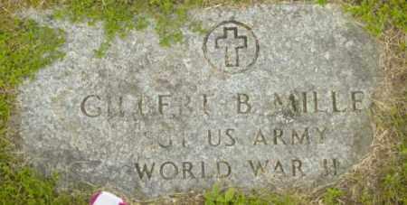 MILLER, GILBERT B - Berkshire County, Massachusetts | GILBERT B MILLER - Massachusetts Gravestone Photos