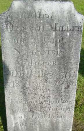 MILLER, HANNAH - Berkshire County, Massachusetts   HANNAH MILLER - Massachusetts Gravestone Photos