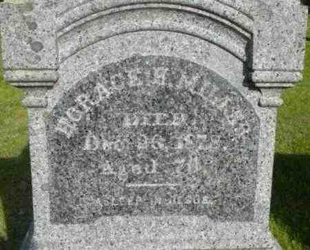 MILLER, HORACE H - Berkshire County, Massachusetts   HORACE H MILLER - Massachusetts Gravestone Photos