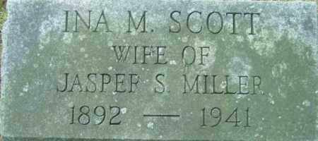 MILLER, INA M - Berkshire County, Massachusetts | INA M MILLER - Massachusetts Gravestone Photos
