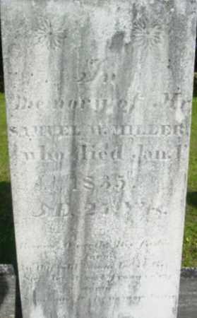 MILLER, SAMUEL W - Berkshire County, Massachusetts | SAMUEL W MILLER - Massachusetts Gravestone Photos