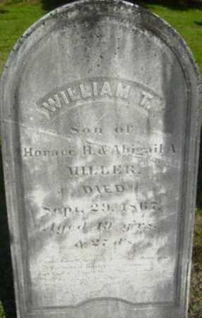 MILLER, WILLIAM T - Berkshire County, Massachusetts | WILLIAM T MILLER - Massachusetts Gravestone Photos
