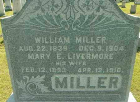 MILLER, MARY E - Berkshire County, Massachusetts | MARY E MILLER - Massachusetts Gravestone Photos