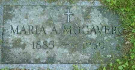 MOGAVERO, MARIA A - Berkshire County, Massachusetts | MARIA A MOGAVERO - Massachusetts Gravestone Photos