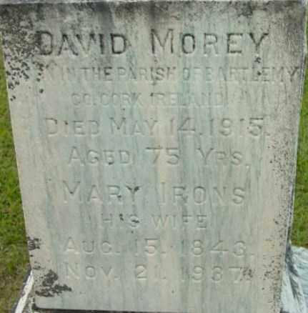 MOREY, MARY - Berkshire County, Massachusetts | MARY MOREY - Massachusetts Gravestone Photos
