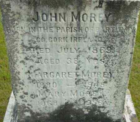 MOREY, JOHN - Berkshire County, Massachusetts | JOHN MOREY - Massachusetts Gravestone Photos