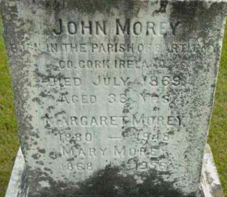 MOREY, MARGARET - Berkshire County, Massachusetts | MARGARET MOREY - Massachusetts Gravestone Photos