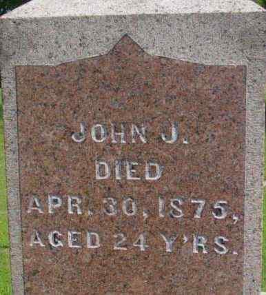 MORRISON, JOHN J - Berkshire County, Massachusetts | JOHN J MORRISON - Massachusetts Gravestone Photos