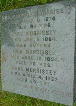 MORRISSEY, MARGARET - Berkshire County, Massachusetts | MARGARET MORRISSEY - Massachusetts Gravestone Photos