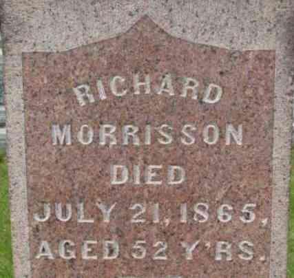 MORRISSON, RICHARD - Berkshire County, Massachusetts | RICHARD MORRISSON - Massachusetts Gravestone Photos