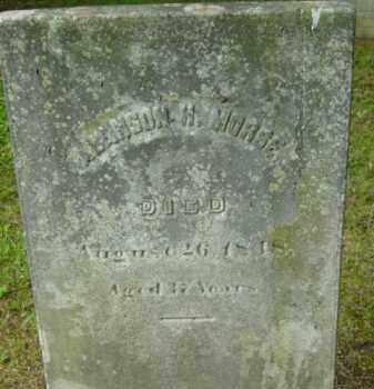 MORSE, ALANSON H - Berkshire County, Massachusetts   ALANSON H MORSE - Massachusetts Gravestone Photos