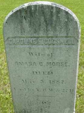 COGSWELL MORSE, CAROLINE F - Berkshire County, Massachusetts | CAROLINE F COGSWELL MORSE - Massachusetts Gravestone Photos