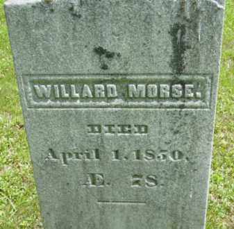 MORSE, WILLARD - Berkshire County, Massachusetts | WILLARD MORSE - Massachusetts Gravestone Photos