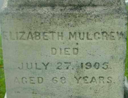 MULGREW, ELIZABETH - Berkshire County, Massachusetts | ELIZABETH MULGREW - Massachusetts Gravestone Photos