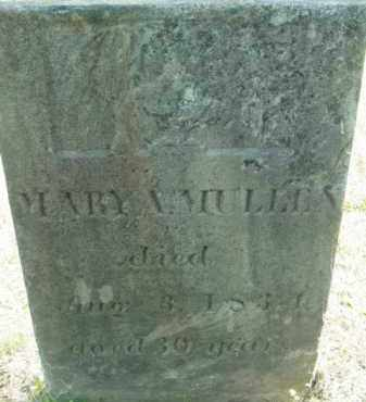 MULLEN, MARY A - Berkshire County, Massachusetts | MARY A MULLEN - Massachusetts Gravestone Photos