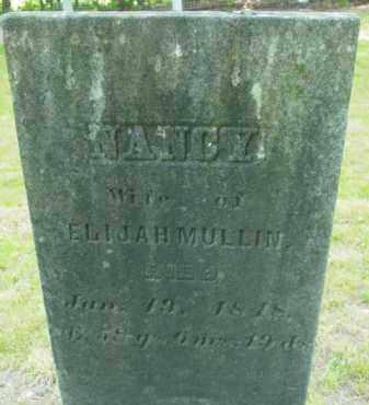 MULLIN, NANCY - Berkshire County, Massachusetts | NANCY MULLIN - Massachusetts Gravestone Photos