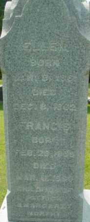 MURPHY, ELLEN - Berkshire County, Massachusetts | ELLEN MURPHY - Massachusetts Gravestone Photos