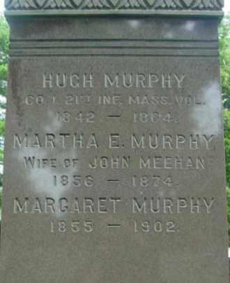 MURPHY, MARTHA E - Berkshire County, Massachusetts   MARTHA E MURPHY - Massachusetts Gravestone Photos