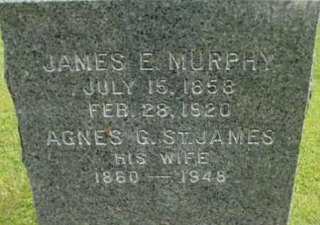 MURPHY, JAMES E - Berkshire County, Massachusetts   JAMES E MURPHY - Massachusetts Gravestone Photos