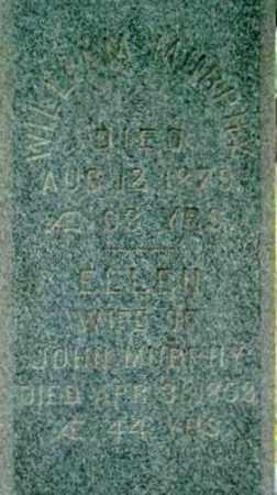 MURPHY, WILLIAM - Berkshire County, Massachusetts | WILLIAM MURPHY - Massachusetts Gravestone Photos