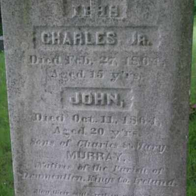MURRAY, CHARLES - Berkshire County, Massachusetts | CHARLES MURRAY - Massachusetts Gravestone Photos
