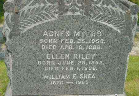 RILEY, ELLEN - Berkshire County, Massachusetts | ELLEN RILEY - Massachusetts Gravestone Photos