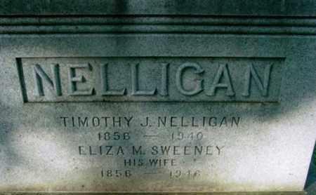 SWEENEY NELLIGAN, ELIZA M - Berkshire County, Massachusetts | ELIZA M SWEENEY NELLIGAN - Massachusetts Gravestone Photos