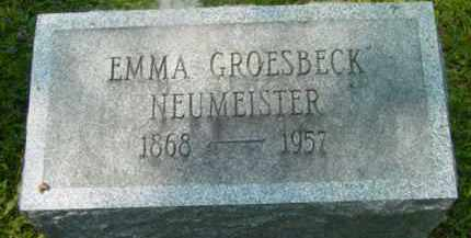 NEUMEISTER, EMMA - Berkshire County, Massachusetts | EMMA NEUMEISTER - Massachusetts Gravestone Photos