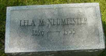 NEUMEISTER, LELA M - Berkshire County, Massachusetts | LELA M NEUMEISTER - Massachusetts Gravestone Photos