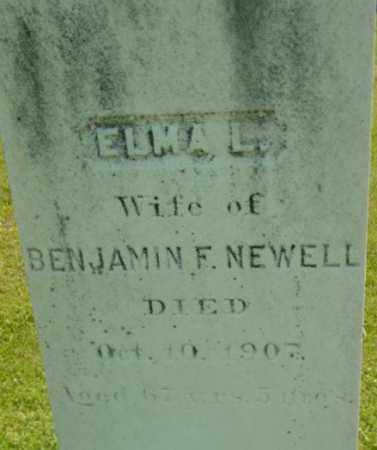 NEWELL, ELMA L - Berkshire County, Massachusetts | ELMA L NEWELL - Massachusetts Gravestone Photos