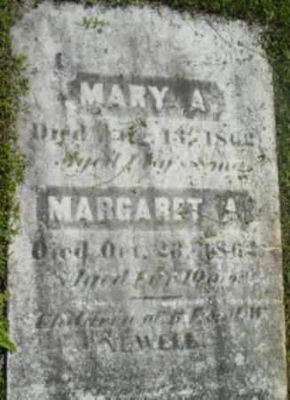 NEWELL, MARY A - Berkshire County, Massachusetts | MARY A NEWELL - Massachusetts Gravestone Photos