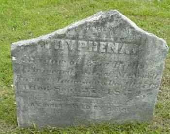 HALL, TRYPHENA - Berkshire County, Massachusetts | TRYPHENA HALL - Massachusetts Gravestone Photos