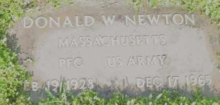 NEWTON, DONALD W - Berkshire County, Massachusetts   DONALD W NEWTON - Massachusetts Gravestone Photos