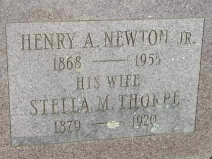NEWTON, STELLA M - Berkshire County, Massachusetts | STELLA M NEWTON - Massachusetts Gravestone Photos