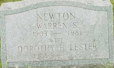 NEWTON, WARREN S - Berkshire County, Massachusetts   WARREN S NEWTON - Massachusetts Gravestone Photos