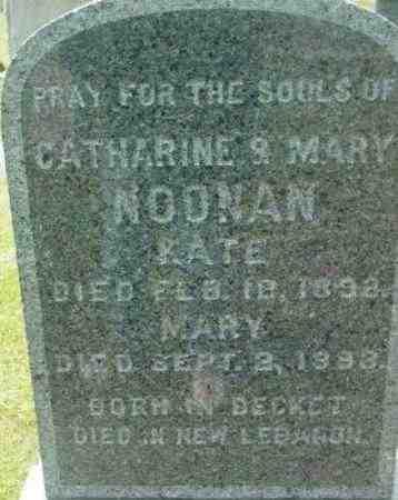 NOONAN, CATHARINE - Berkshire County, Massachusetts | CATHARINE NOONAN - Massachusetts Gravestone Photos