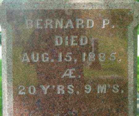 NORTON, BERNARD P - Berkshire County, Massachusetts | BERNARD P NORTON - Massachusetts Gravestone Photos
