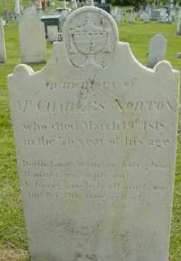 NORTON, CHARLES - Berkshire County, Massachusetts | CHARLES NORTON - Massachusetts Gravestone Photos