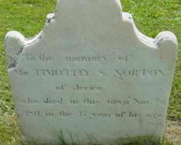 NORTON, TIMOTHY - Berkshire County, Massachusetts | TIMOTHY NORTON - Massachusetts Gravestone Photos