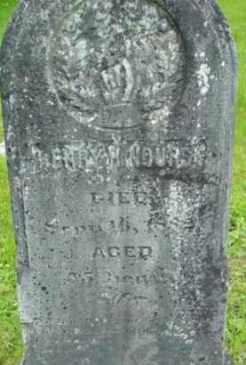 NOURSE, HENRY H - Berkshire County, Massachusetts | HENRY H NOURSE - Massachusetts Gravestone Photos