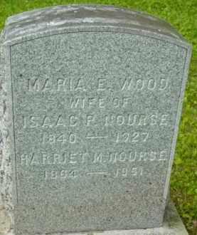 WOOD NOURSE, MARIA E - Berkshire County, Massachusetts | MARIA E WOOD NOURSE - Massachusetts Gravestone Photos