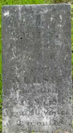 NURSE, EMILY - Berkshire County, Massachusetts | EMILY NURSE - Massachusetts Gravestone Photos
