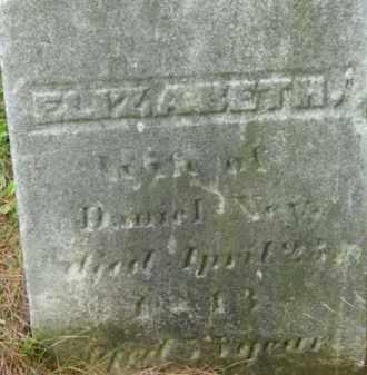NYE, ELIZABETH B - Berkshire County, Massachusetts | ELIZABETH B NYE - Massachusetts Gravestone Photos