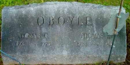 O'BOYLE, THOMAS G - Berkshire County, Massachusetts   THOMAS G O'BOYLE - Massachusetts Gravestone Photos